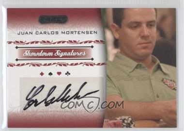 2007 Razor Poker Showdown Signatures #SS-32 - Juan Carlos Mortensen