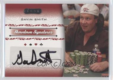 2007 Razor Poker Showdown Signatures #SS-41 - Gavin Smith