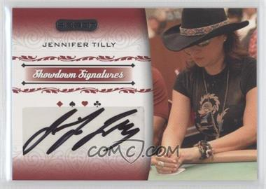 2007 Razor Poker Showdown Signatures #SS-42 - Jennifer Tilly