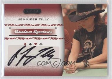 2007 Razor Poker Showdown Signatures #SS-42 - Jennifer Tilly