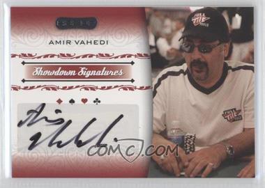 2007 Razor Poker Showdown Signatures #SS-43 - Amir Vahedi