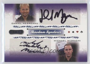 2007 Razor Poker Showdown Signatures #SS-48 - Daniel Negreanu, Michael Mizrachi