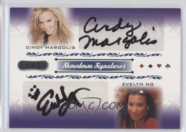 2007 Razor Poker Showdown Signatures #SS-49 - Cindy Margolis, Evelyn Ng