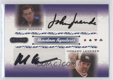 2007 Razor Poker Showdown Signatures #SS-52 - John Juanda, Howard Lederer