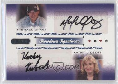 2007 Razor Poker Showdown Signatures #SS-54 - Michael Gracz, Kathy Liebert
