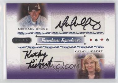 2007 Razor Poker Showdown Signatures #SS-54 - Michael Gracz, Kathy Liebert