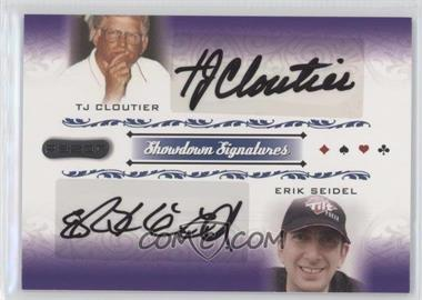 2007 Razor Poker Showdown Signatures #SS-64 - Tj Cloutier, Erik Seidel