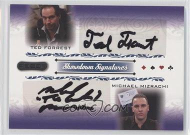 2007 Razor Poker Showdown Signatures #SS-70 - Ted Forrest, Michael Mizrachi