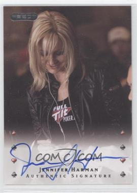 2010 Razor Poker - [Base] - [Autographed] #21 - Jennifer Harman