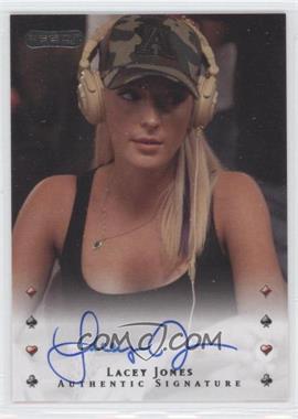 2010 Razor Poker - [Base] - [Autographed] #26 - Lacey Jones