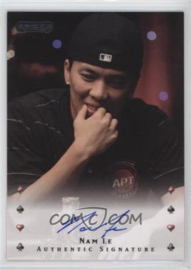 2010 Razor Poker - [Base] - [Autographed] #32 - Nam Le