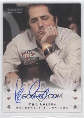 2010 Razor Poker - [Base] - [Autographed] #35 - Phil Gordon