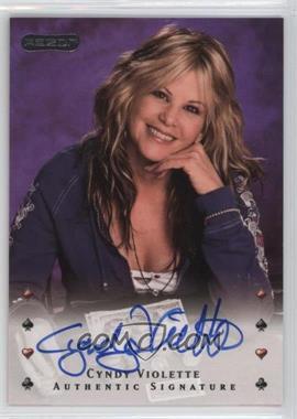 2010 Razor Poker - [Base] - [Autographed] #6 - Cyndy Violette