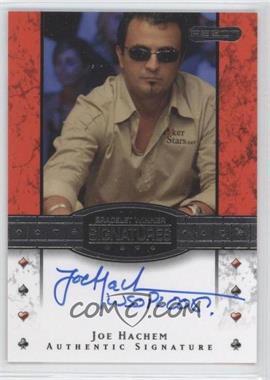 2010 Razor Poker - Bracelet Winner Signatures - [Autographed] #BH-7 - Joe Hachem