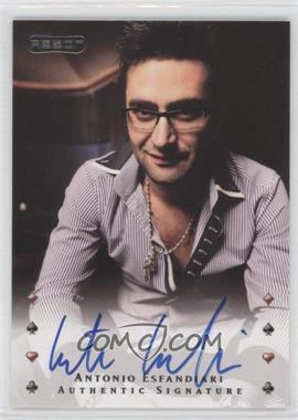 2010 Razor Poker [Autographed] #1 - Antonio Esfandiari