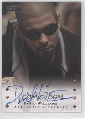 2010 Razor Poker [Autographed] #10 - David Williams