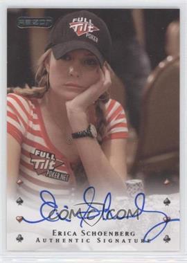 2010 Razor Poker [Autographed] #11 - Erica Schoenberg