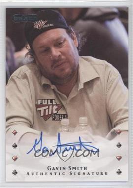 2010 Razor Poker [Autographed] #14 - Gavin Smith