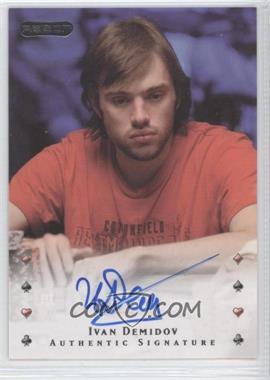 2010 Razor Poker [Autographed] #18 - Ivan Demidov