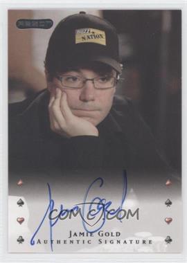 2010 Razor Poker [Autographed] #19 - Jamie Gold