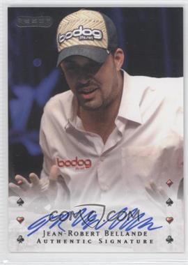 2010 Razor Poker [Autographed] #20 - Jean-Robert Bellande