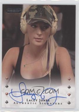 2010 Razor Poker [Autographed] #26 - Lacey Jones
