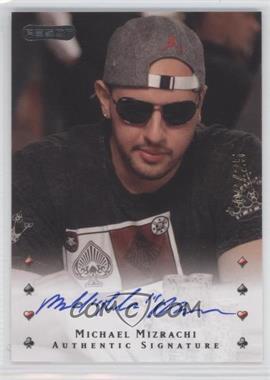 2010 Razor Poker [Autographed] #30 - Michael Mizrachi