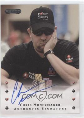 2010 Razor Poker [Autographed] #4 - Chris Moneymaker