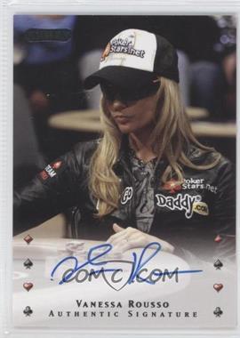 2010 Razor Poker [Autographed] #43 - Vanessa Rousso