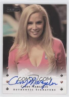 2010 Razor Poker [Autographed] #5 - Cindy Margolis