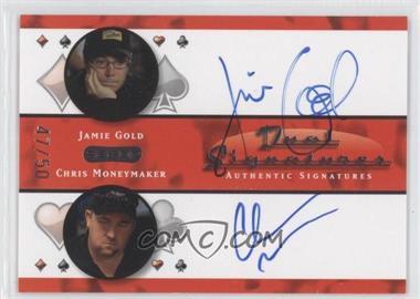 2010 Razor Poker Dual Signatures [Autographed] #DS-15 - [Missing] /50
