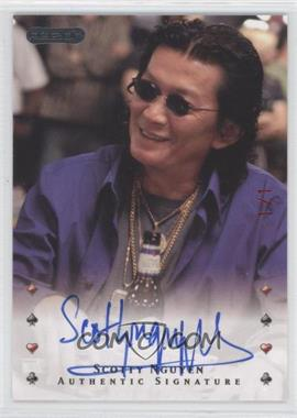 2010 Razor Poker Red [Autographed] #39 - Scotty Nguyen /1