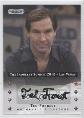 2010 Razor Poker The Industry Summit 2010 Las Vegas [Autographed] #LV-AU-N/A - [Missing]
