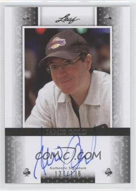 2011 Leaf - [Base] - Black Clubs #BA-JG1 - Jamie Gold /136