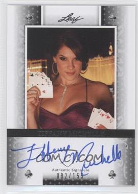 2011 Leaf Black Clubs #BA-TM1 - Tiffany Michelle /155
