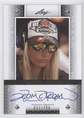 2011 Leaf Black Clubs #BA-VR1 - Vanessa Rousso /200