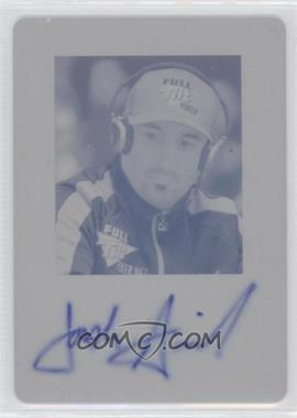 2011 Leaf Printing Plate Cyan [Autographed] #BA-2 - [Missing] /1