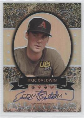 2012 Leaf Metal - [Base] - Silver Prismatic #MB-EB1 - Eric Baldwin /25