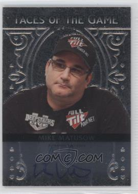 2012 Leaf Metal - Faces of the Game #FA-MM2 - Mike Matusow