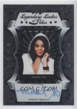 2012 Leaf Metal - Legendary Ladies of Poker #LL-MH1 - Maria Ho