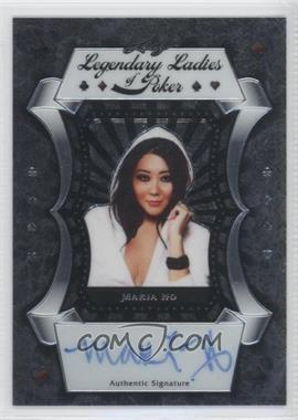 2012 Leaf Metal Legendary Ladies of Poker #LL-MH1 - Maria Ho