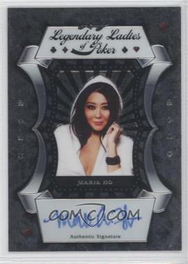 2012 Leaf Metal Legendary Ladies of Poker #LL-MH1 - Maria Ho