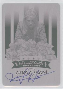 2012 Leaf Metal World Series Cash Autographs Printing Plate Magenta #$-JH1 - Jennifer Harman /1