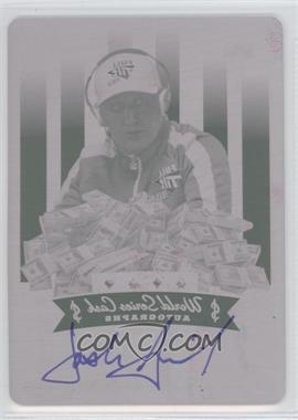 2012 Leaf Metal World Series Cash Autographs Printing Plate Magenta #$-N/A - [Missing] /1
