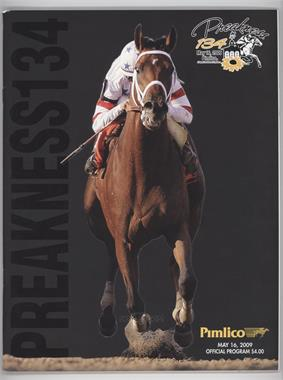1873-Now Preakness Stakes - Official Programs #134 - 2009