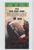 1992 (Washington Huskies vs. Michigan Wolverines) [Good to VG‑E…