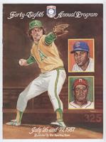 1987 (Catfish Hunter, Billy Williams, Ray Dandridge) [Good to VG&#820…