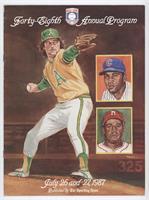 1987 (Catfish Hunter, Billy Williams, Ray Dandridge) [GoodtoVG&#820…