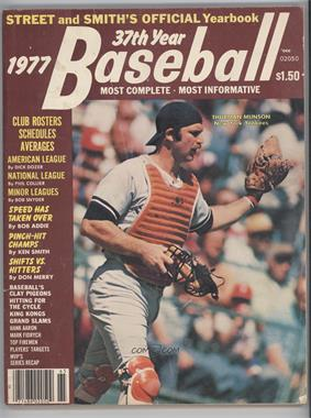 1940-2007 Street and Smith's Baseball Yearbook #37 - 1977 (Thurman Munson) [Good to VG‑EX]