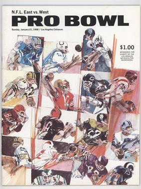 1950-69 NFL Pro Bowl Game Programs #18 - 1967 Pro Bowl (January 21, 1968)